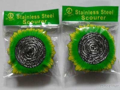Kitchen Stainless Steel Scourer, Metal Scourer, Cleaning Scourer