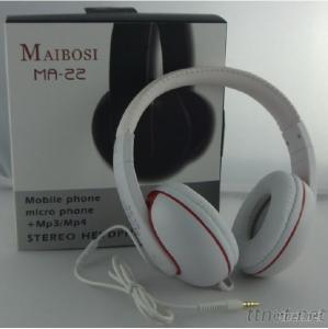 SMS Skype Online Chat Wired Headphones With Microphone