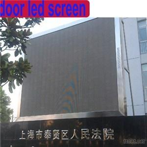 P6 SMD Full Color Outdoor Advertising LED Display Screen