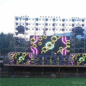 P5.95 Outdoor Large LED Rental Panel Screen Concert Stage LED Video Display