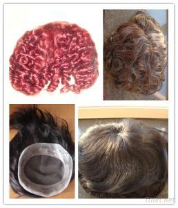 Men'S Wig Toupee Hair Piece