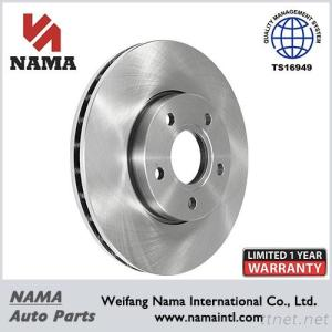 Car Parts Disc Brake Rotor Vented & Front
