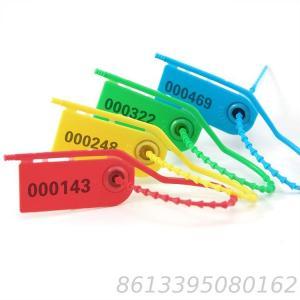 SL-18F Plastic Strip Seal Anti-Theft Seal Tamper Proof plastic seal 210 mm