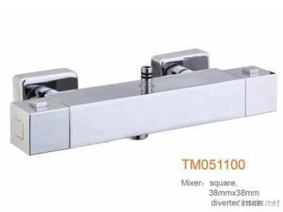 Square Thermostatic Shower Faucets