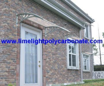 DIY Awning, Door Canopy, Window Awning, Polycarbonate Awning