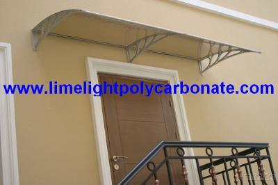 Polycarbonate DIY Awning, Door Canopy