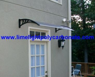 Polycarbonate DIY Awning, Door Canopy, DIY Awning