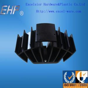 Aluminum Extrusion Hear Sink 6063 With Anodizing And Surface Treatment