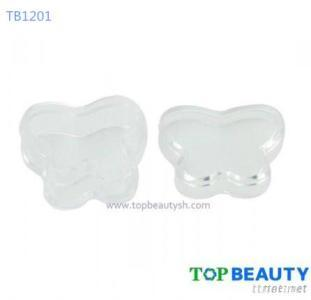 Clear Butterfly Lip Gloss Lip Balm Container Packaging