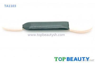 Double Side Sponge Foundation, Eye Shadow, Blush Brush, Cosmetic Make Up Applicator