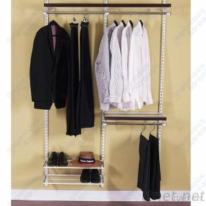 Classic Wire Closet Shelf System For Bedroom Wardrobes