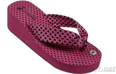 Women Wedges Platform Shoes Summer Slippers Flip Flops Open Toe Beach