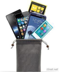 Mobile phone  Drawstring Bags, ear phone cable drawstring bags ( HY87)