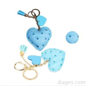Leather keychain, Pu car keychain, (L361)