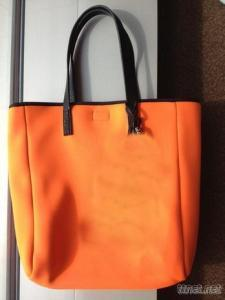 Neoprene Handbag , Neoprene Tote bag, woman bag (W275)