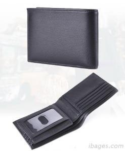 Genuine Leather RFID Blocking  Men Wallets( W103)