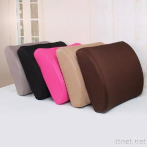 Lumbar Pillows and Cushions for Car and Chair Made of Memory Foam