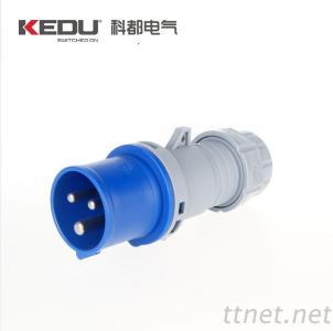 KEDU Industrial Plug, Industrial Socket, Plug, Socket, IP67