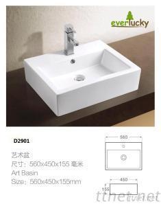 Fashion Ceramic Basin D2901