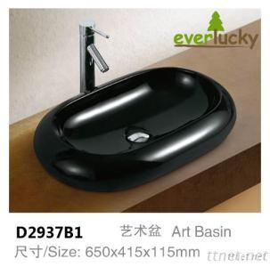 Popular Hot Color Art Basin D2937B1