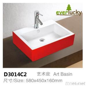 Very Hot Colro Art Basin D3014C2