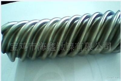 Titanium Screw Thread Tube