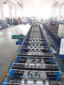 Close Deck Floor Roll Forming Machine