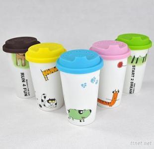 Mug, Travel Mug, Porcelain Coffee Mug
