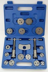18 Piece Disc Brake Pad And Caliper Service Tool Kit