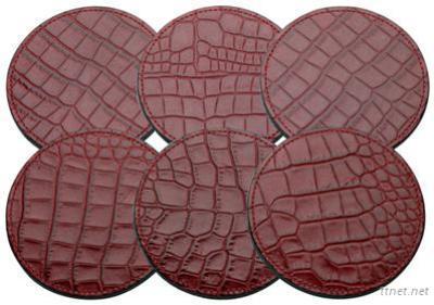 Pu Leather Coaster