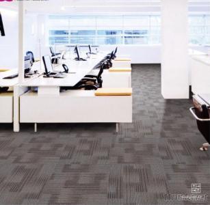 Nylon Carpet Tiles With PVC Backing