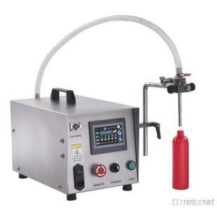 Tabletop Gear Pump Liquid Filling Machine