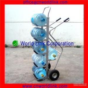350Kgs Load Water Bottle Transporting Metal Bucket Trolley