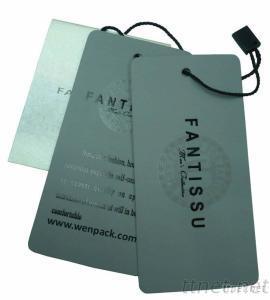 Custom Printed Apparel Hang Tag