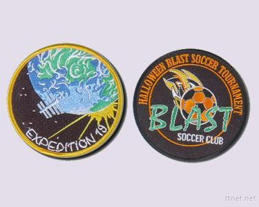 Round Embroidery Patches