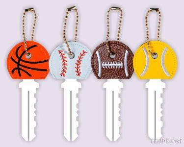 Embroidered Key Holder, Key Cap