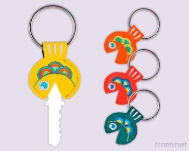 Embroidered Key Holder