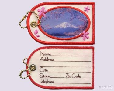 Mount Fuji- Embroidery + Sublimation, Luggage Tag