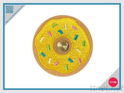 Embroidery Donut Shaped Earphone Winder / Wire Collector