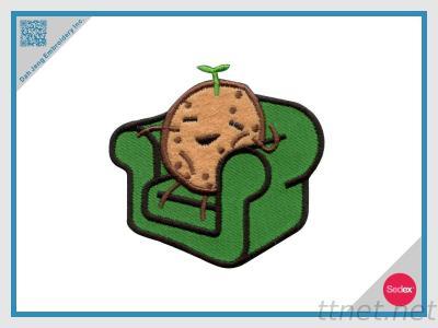 Embroidery Applique-Couch Potato