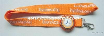 Promotional Lanyard With Watch