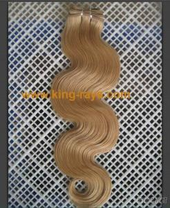 Pure Blonde Body Wave Human Hair Extension
