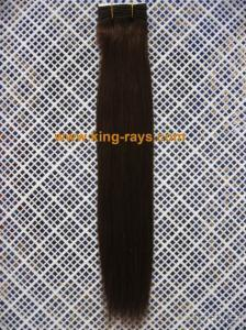 Soft 100% Pure Silky Straight Black Remy Human Hair Weaving