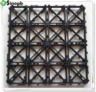 PB-01 Upgrade Interlocking Plastic Mat For Decking Tiles