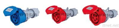 economic industrial connector IP44 3P 4P 5P