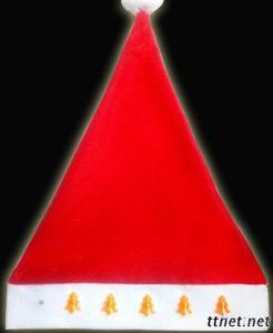 LED Christmas Hat With Xmas Tree/Star/Heart/Snow Design