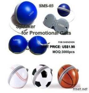 Different kinds of Ball Mini Speakers, Portable Speakers