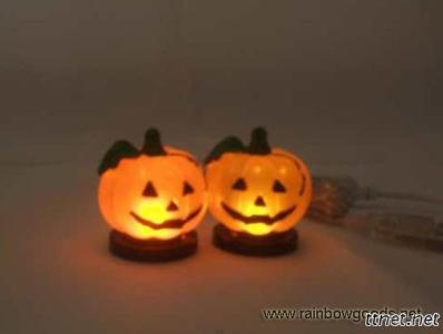 Small Bulbs LED USB Pumpkin Light