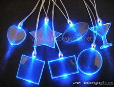 LED Flashing Necklace, LED Flashing Light, LED Gifts