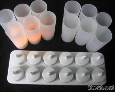 LED Rechargeable Tea Candle Light